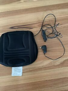 Black Electrical Chair Massager With Hand Control
