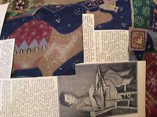 M12b ephemera 1950s picture ironing chair mr j vickery croydon