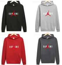Michael Air Jordan Mens Casual Hoodie Sweatshirts Sportswear Unisex Pullover