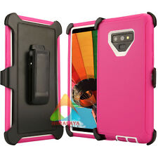 For Samsung Galaxy Note 9 Case (Clip fits Otterbox Defender) Shockproof Cover