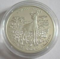 Benin 1000 Francs 2004 Tiere Damagazelle Silber