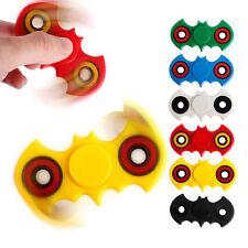 5PCS Cute Bat Fidget Spinner Triangle Single Finger Decompression Gyro USA Stock