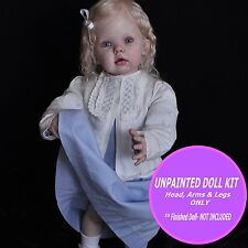 Reborn Doll Kit - Unpainted vinyl kit to make a doll  Toddler Kit Tibby Standing