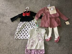 Infant Baby Girl One Pieces, Dresses, Outfits Carter's Size 6/9 Months Lot Of 8