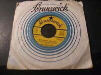 Louis Armstrong - I Will Wait For You NM Promo 45 RPM Brunswick Record 1968 Jazz