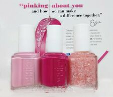Essie-Breast Cancer Awareness 2014- All 3 Shades 883-884-*3025 PINKING ABOUT YOU