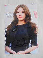 Suzy Bae Miss A 4x6 Photo Korean Actress KPOP autograph signed USA Seller B2