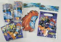 Digamon Party Supplies Cups Napkins Masks And Gift Bags