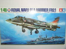 TAMIYA 1/48 Royal Navy Sea Harrier FRS.1 AIR PLANE militare kit modello #61026