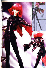 1/8 ZZ Gundam: Haman Karn (Black Outfit)  Unpainted Resin Model Kit