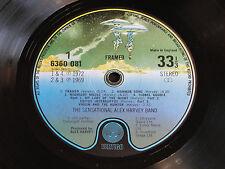 """THE SENSATIONAL ALEX HARVEY BAND """"Framed"""" 1972 UK VERTIGO  LP.EX Audio!"""