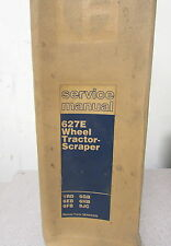 Caterpillar Cat 627E Wheel Tractor Scraper Service Manual 1RD 6EB 6FB 6GB 6HB