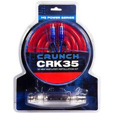 Crunch CRK35 Juego de Cables - 35mm ² 35qmm para Amplificador Amp