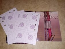 Card Weaving book & 24 cards Candace Crocket arts & crafts for yarn