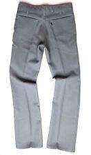 Vintage Levi's Dacron Polyester Pants Men Sz 32 X 34 Zipper Gray Rockabilly USA