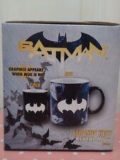 BATMAN Ceramic Heat Reveal 20oz Coffee Mug Graphics Appears when Mug is HOT +BOX