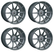 "XXR 527 18"" x 8.75J 5x100/114.3 ET35 BLACK CHROME WIDE RIMS ALLOYS WHEELS Z1644"