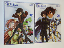 Code Geass - Lelouch of the Rebellion DVD  1° edizione 2 Box NUOVI