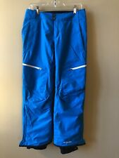 Columbia Women's Sur Le Peak II Omni Heat Snow Ski Pants Turquoise Blue Sz M