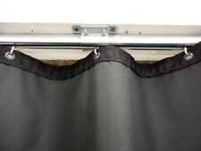 1 foot of Heavy Duty Steel Curtain Hanging Track System w/ rollers & hardware
