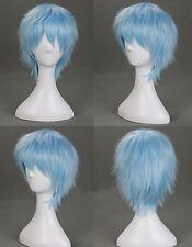 Light Blue Mixed kuroko No Basket Kuroko Tetsuya Short Anime Cosplay Wig