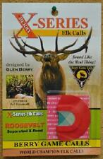 Berry Game Calls X-Series Roosevelt Bull Reed X-4 Elk Hunting Call NEW