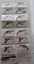 GREAT RUGER Fold-Out Advertisement - Handguns - Rifles - Illustrated Poster Guns