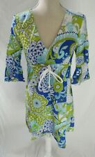 Skirtin Around Floral Dress/Cover up Size 4