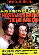 Hasta el Viento Tiene Miedo 1968 Even The Wind Is Afraid DVD Rare Mexican Horror