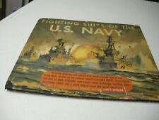 Fighting Ships of The U.S. Navy HC/DJ 1941