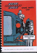 "Fordson ""Power"" Major Tractor Illustrated Parts Manual"