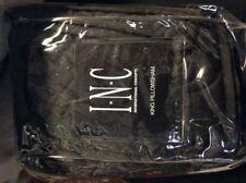 INC-Tango King Pillowsham Quilted Black NIP