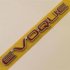 Range rover font arrière porte badge nom plaque emblème rouge genuine new style