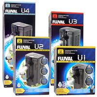 FLUVAL NEW U-SERIES U1,U2,U3,U4 INTERNAL FILTERS SUBMERSIBLE AQUARIUM FISH TANK