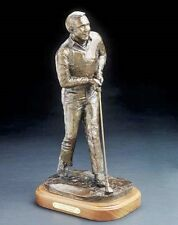 """Arnold Palmer 18"""" x 8"""" Arnold Palmer  Bronze Statue Sculpted By Bob Pack"""