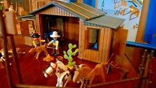 Playmobil réf : 3768 Le Silver Ranch - Cowboys - Western - Far West - Vintage