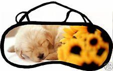 Masque de sommeil cache yeux anti lumière fatigue chien personnalisable REF 39