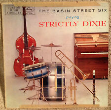 """THE BASIN STREET SIX PLAYING STRICTLY DIXIE, 12"""" LP 1957 MERCURY, MG 20151"""