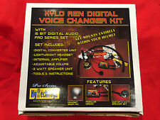 KYLO REN DIGITAL VOICE CHANGER SYSTEM COSTUME COSPLAY 2018 PRO SERIES NEW!!