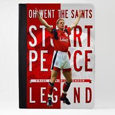 Pearce Nottingham Forest Case Ipad Tablet De Cuero Cubierta de la leyenda del fútbol LG74