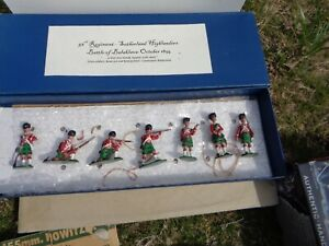 Counterpane Productions 93rd Sutherland Highlanders Crimean 54mm lead soldier Az