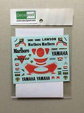 1/12 Yamaha YZR500 Marlb0r0 '88 E. Lawson Rider Decal for Tamiya / Hasegawa