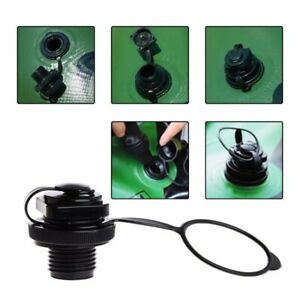 Screw in Air Valve Caps for Inflatable Fishing Boats Raft Airbed Valve Plug Cap