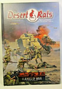 Flames of War: Desert Rats  Ergänzungsbuch Complement Book OVP / MIB