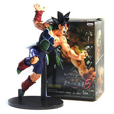 Anime Dragon Ball Z DBZ Scultures Tenkaichi Bardock Battle Damage Ver Figure Toy