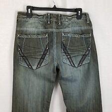 Do Denim Mens Black Denim Jeans 32x32