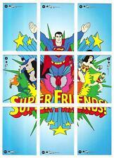 JUSTICE LEAGUE ARCHIVES--Complete SUPER FRIENDS Insert Set (18)^^