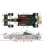 PS02 MINARDI TRANS DECAL for TAMIYA 1/20 FW24 WEBBER YOUNG