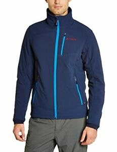 Vaude TAJORD Herren Softshell Sport Outdoor Jacke blau atmungsaktiv wärmend neu