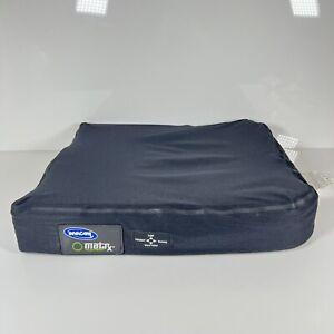 "Invacare Matrx Flo-tech Solution Extra 16"" x 18"" Wheelchair Seat Cushion"